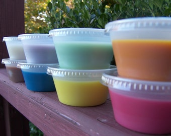 6 SOY TARTS / MELTS - Pick Any 3 Scents - Highly Scented - Over 125 Scents