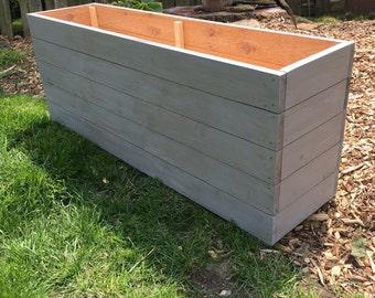 Planter box etsy cedar planterplanter boxoutdoor storagewood planteroutdoor garden box workwithnaturefo