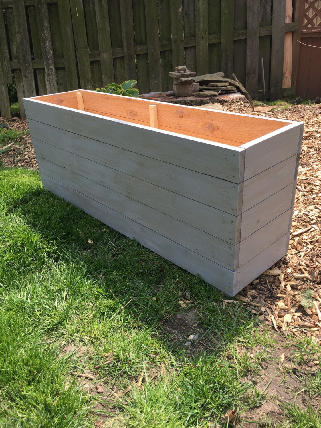 boxes cedar id introduction one large board box planter