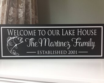 Lake House Sign, Lake, Lake House Signs, Lake House Gift, Lake Signs, Lake Sign, Sign for Lake House, Lake House Art, Lake House Decor