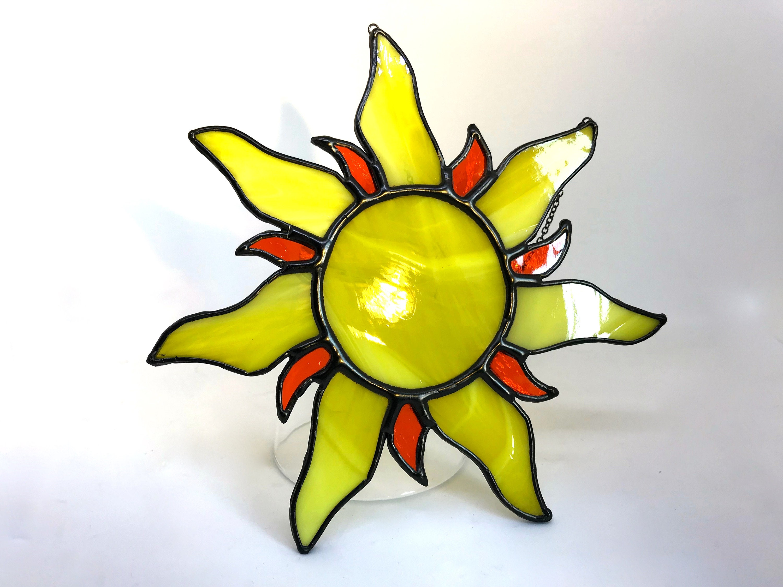 You Are My Sunshine! Handmade Stained Glass Sun Ray Suncatcher, Wall ...