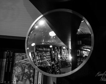 Photography, Black and White, Mirror