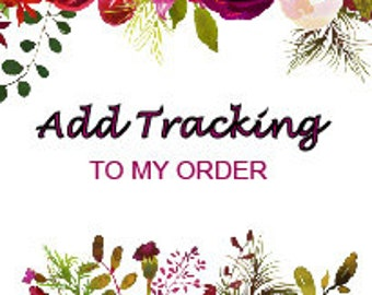 Listing 1 - Add Tracking To My Order