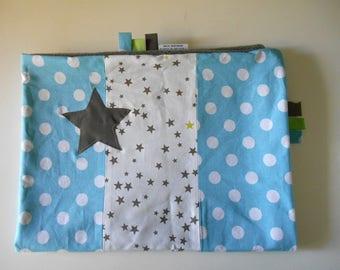 PROMO! PROMO! Light blue cover, applied stars