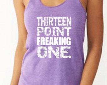 Thirteen Point Freaking One Running Tank Marathon Tank