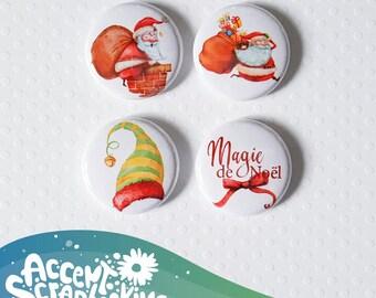 "Badge 1 ""- Christmas Magic"