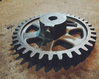 Large Industrial Gear Steampunk