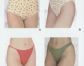 EziSew 203 various panties patterns