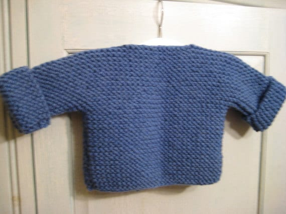 Bebeknits Simple French Style Toddler Cardigan Knitting
