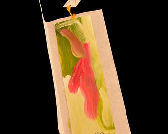 Hand painted bookmark.