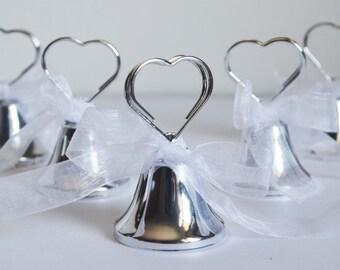 60 x tirabaci Bells wedding Placecard Bell segnatavola Bell