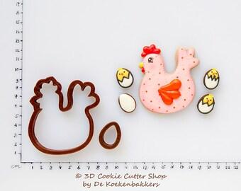 Chicken & Egg #1 Cookie Cutter Set