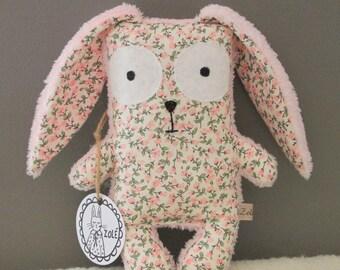 Teddy rabbit Firmin, blanket, baby, baby gift, birthday gift, Easter gift, nursery, toy, plush, Easter