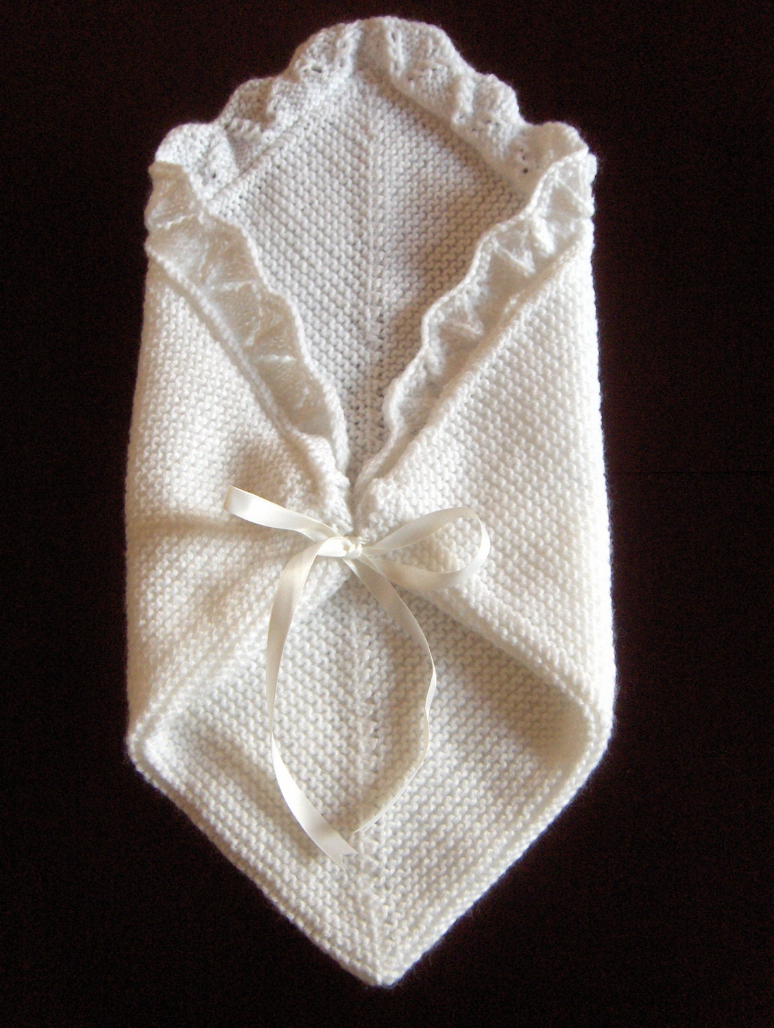 Premature Small Baby Knitting Pattern For Cuddle Blanket/