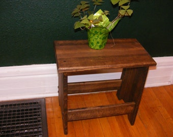 Rustic Stool/Bench