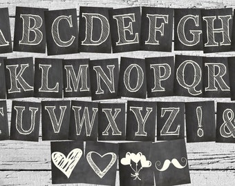 A - Z Banner Letters!