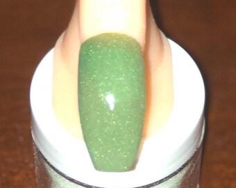Schmoney Green acrylic powder