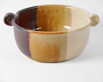 Pottery serving bowl - ceramic serving dish - bowl - condiment bowl - salsa bowl - dip bowl   B118