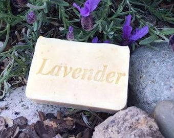 Lavender Oatmeal Soap - Gentle soap - Handmade Soap - Cold process soap - Vegan Soap - Aquarian Bath
