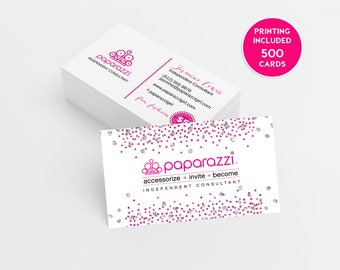 Paparazzi Business Cards Etsy - Paparazzi business card template