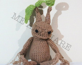 Mandrake Crochet Amigurumi - Harry Potter