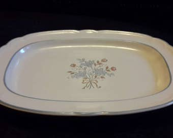 Cordella Stoneware Serving Tray  Bluet