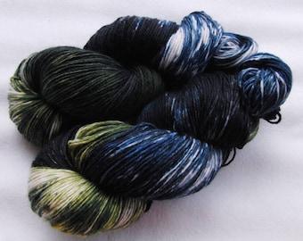 Handpainted  DK Sock Yarn, 75 Wool , 25 Nylon 200g 7.0 oz.  Nr. 161