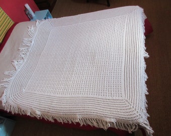 Bedspread cover old quilt or vintage tablecloth. Collections.vintage handmade