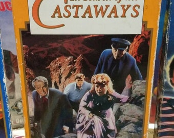 In Search of the Castaways -Disney VHS- Live Action Classic Haley Mills