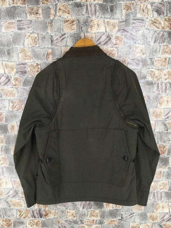 M Comme Jacket Olive 65 Miyake Size BEAMS Pocket Japanese Multi Jacket Small S Japan Des Cargo Bomber Coat Field Jacket Issey Warmer UUw6Iq