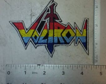 Voltron Embroidered Patch