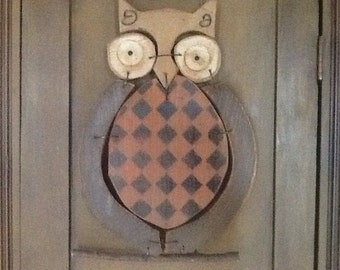 Owl  with wire