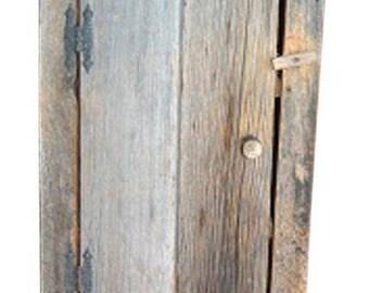 Rustic Barn Wood Wall Cabinet