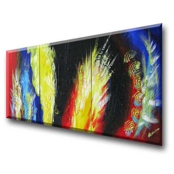 "Primary color painting, Fengshui painting, zen art, Abstract art, Chinese Dragon Art Commission (Wild Claws Three 20""x20"" Yin Lum)"