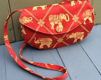 Red Elephant Shoulder Bag