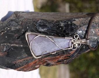 Fancy jasper pendant