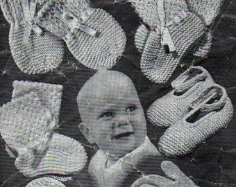 Spiderwools 56 Vintage Knitting Pattern Three Baby Rompers