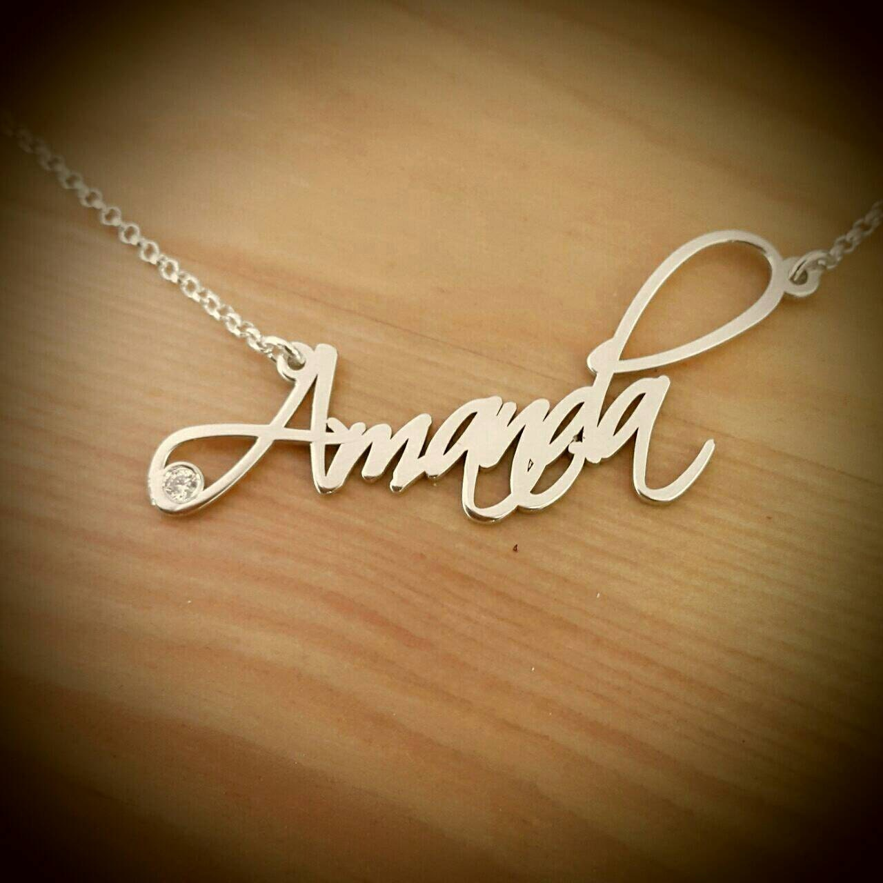 in personalized necklace pendants promise name engraved women item jewelry necklaces from steel chain chains custom for stainless bar