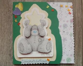 For a birth congratulations card