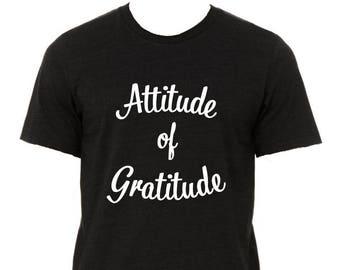 Attitude of Gratitute tee