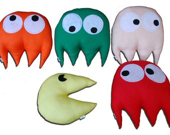 Packman Soft Toys Set of 5 - Multicolor