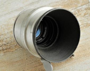 """Ultra Rare LENKINAP OKS1-35-1 (2/35) Red """"P"""" Soviet lens LOMO KMZ. Mount M37 ussr lens"""