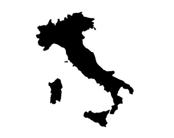 Italy Stencil Made from 4 Ply Mat Board