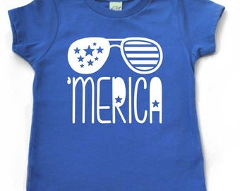4th of July, Merica Shirt, merica shirt for kids, 4th of july shirt for kids, boys 4th of July shirt, america shirt, Memorial Day shirt kid