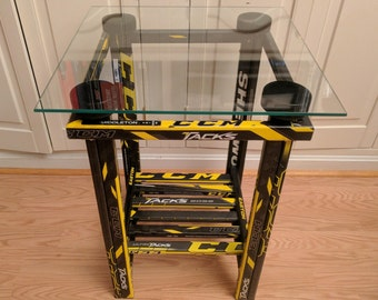 Hockey Stick End Table