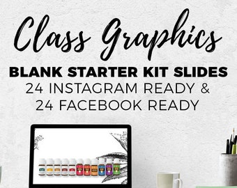 Class Graphics - BLANK Essential Oil 101 || Downloads