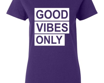 Good Vibes Only-Purple