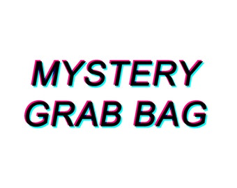 Mystery Grab Bag // Grunge Jewelry Grab Bag // Alternative Lucky Dip