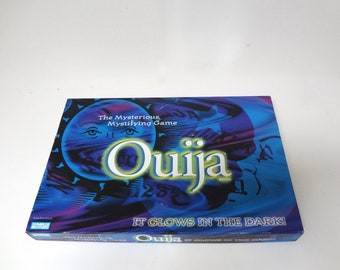 Vintage Ouija Board  Glow In The Dark 1998 Edition Instructions Included Light Wear On Box Only
