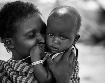 Maasai Mother - archival fine art fiber print